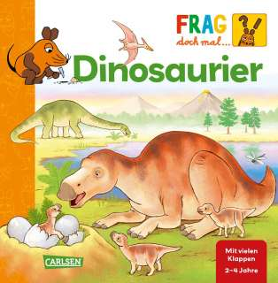 Frag doch mal ... die Maus!: Dinosaurier Cover