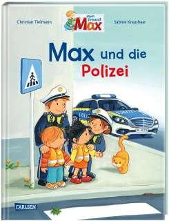 Max-Bilderbücher: Max und die Polizei Cover