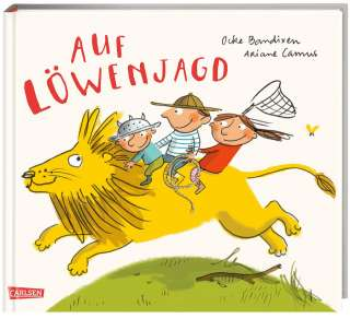 Auf Löwenjagd Cover