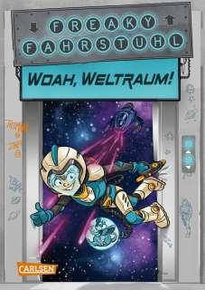 Woah, Weltraum! Cover