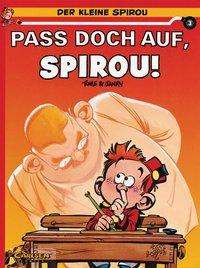 Pass doch auf, Spirou! Cover