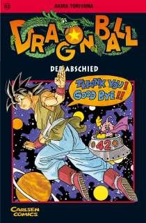 Dragon ball 42- Der Abschied  Cover