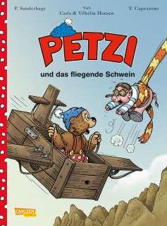 Petzi und das fliegende Schwein Cover