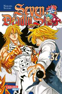 Seven Deadly Sins 37 Cover