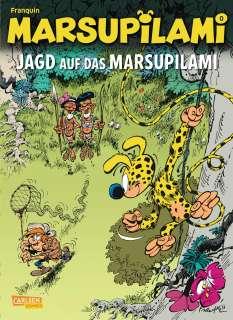 Jagd auf das Marsupilami Cover