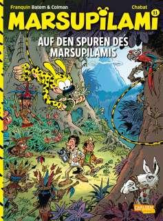 Auf den Spuren des Marsupilamis Cover