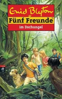 Fünf Freunde im Dschungel Cover