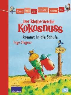 Der kleine Drache Kokosnuss kommt in die Schule Cover