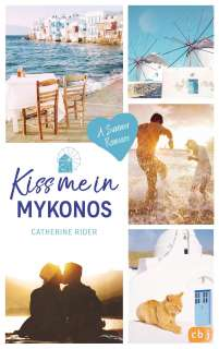 Kiss me in Mykonos Cover