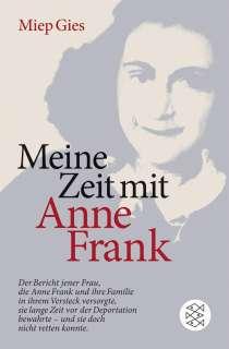 Meine Zeit mit Anne Frank Cover