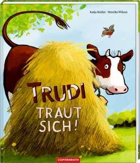 Trudi traut sich! Cover