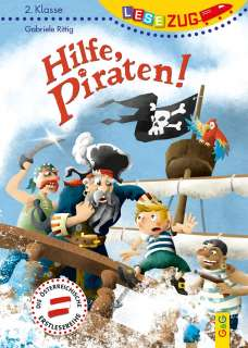 Hilfe, Piraten! Cover