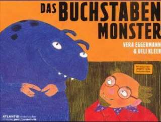 Das Buchstaben-Monster Cover