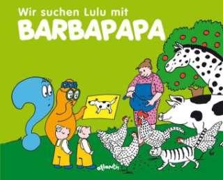 Wir suchen Lulu mit Barbapapa Cover