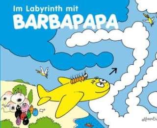 Im Labyrinth mit Barbapapa Cover