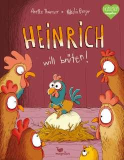 Heinrich will brüten! Cover