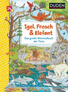 Igel, Frosch & Elefant Cover