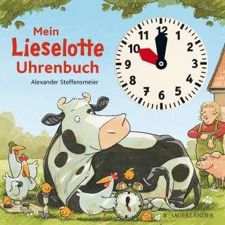 Mein Lieselotte Uhrenbuch Cover