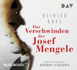 Das Verschwinden des Josef Mengele Cover