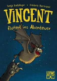 Vincent flattert ins Abenteuer Cover