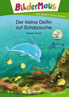 Der kleine Delfin auf Schatzsuche Cover