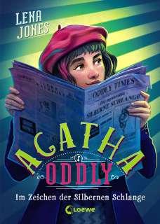 Agatha Oddly - Im Zeichen der Silbernen Schlange Cover