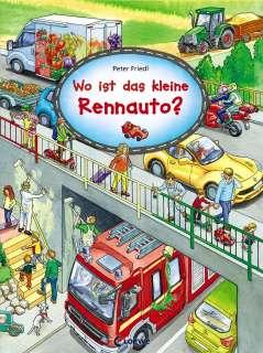Wo ist das kleine Rennauto? Cover