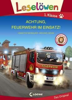 Achtung, Feuerwehr im Einsatz! Cover