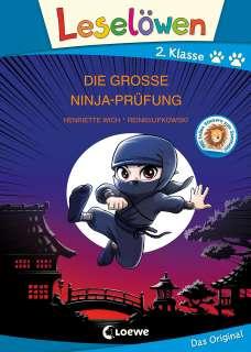 Die grosse Ninja-Prüfung Cover