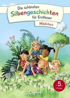 Die schönsten Silbengeschichten für Erstleser - Mädchen Cover