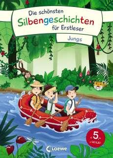 Die schönsten Silbengeschichten für Erstleser - Jungs Cover