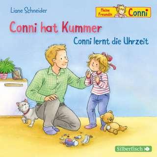 Conni hat Kummer ; Conni lernt die Uhrzeit Cover