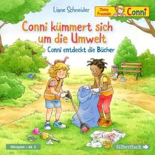 Conni kümmert sich um die Umwelt ; Conni entdeck die Bücher Cover