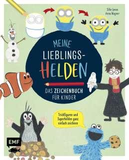 Meine Lieblingshelden - Das Zeichenbuch für Kinder Cover