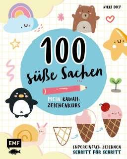 100 süße Sachen– Mein Kawaii-Zeichenkurs Cover