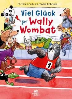 Viel Glück für Wally Wombat Cover