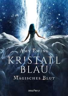 Kristallblau - magisches Blut Cover