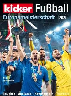 Fussball Europameisterschaft 2021 Cover