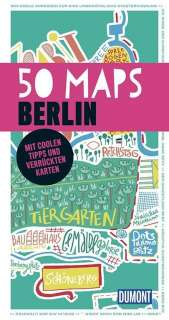 50 maps Berlin Cover