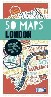 50 maps London Cover