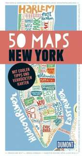 50 maps New York Cover