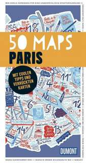50 maps Paris Cover