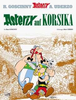 Asterix auf Korsika Cover