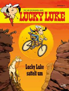 Lucky Luke sattelt um Cover
