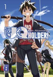 UQ Holder Manga 1 Cover