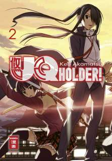 UQ HOLDER Manga 2 Cover