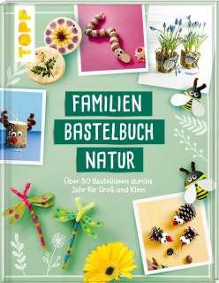 Familienbastelbuch Natur Cover