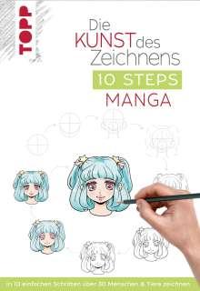 Die Kunst des Zeichnens 10 Steps - Manga Cover