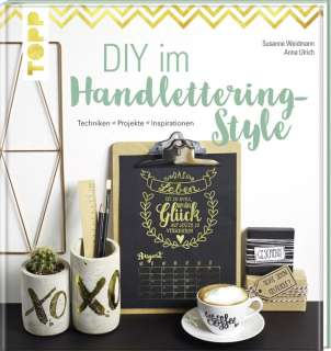 DIY im Handlettering-Style Cover