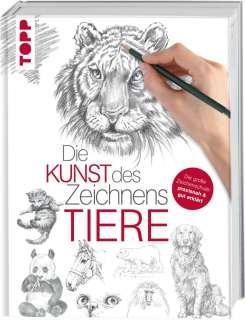 Die Kunst des Zeichnens - Tiere Cover